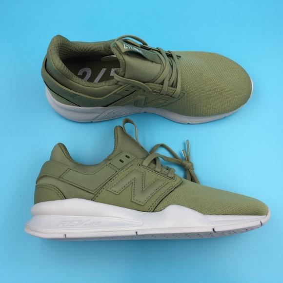 New Balance Womens Green Gray Ws247ob